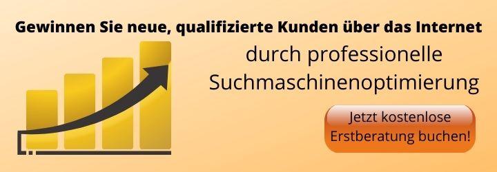 Kunden durch Suchmaschinenoptimierung in Fürstenfeldbruck